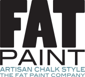 FAT PAINT  Artisan Chalk Logo v1
